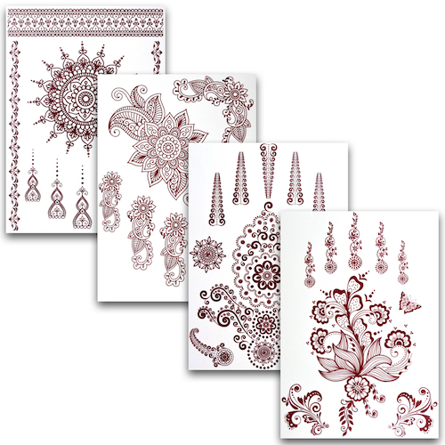 "Henna Tattoos ""Set 1"""