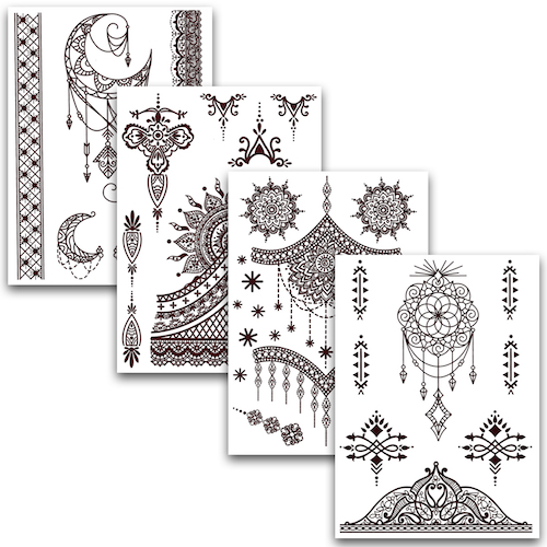 "Henna Tattoos ""Set 2"""